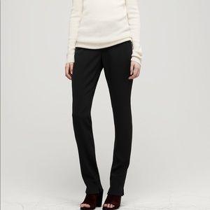 Rag & Bone Eloise Black Tuxedo Stripe Crepe Pants